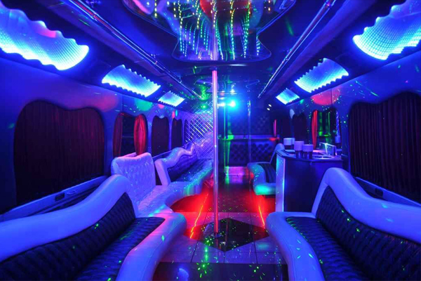 18 Passenger Party Bus Rental Norfolk