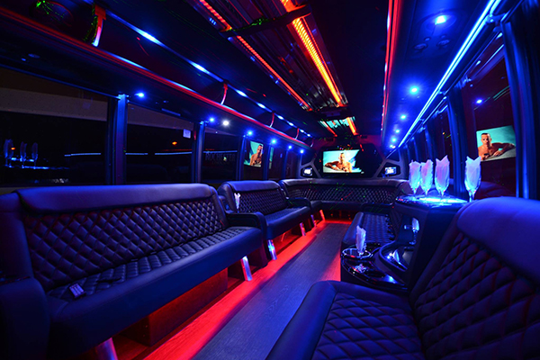 40 Passenger Party Bus Rental Norfolk