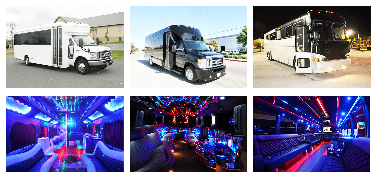 Party Buses Norfolk Rentals